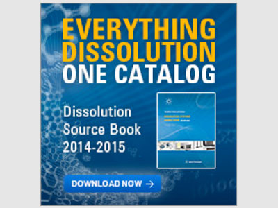 RES featured in Agilent Technologies Dissolution Systems Source Book